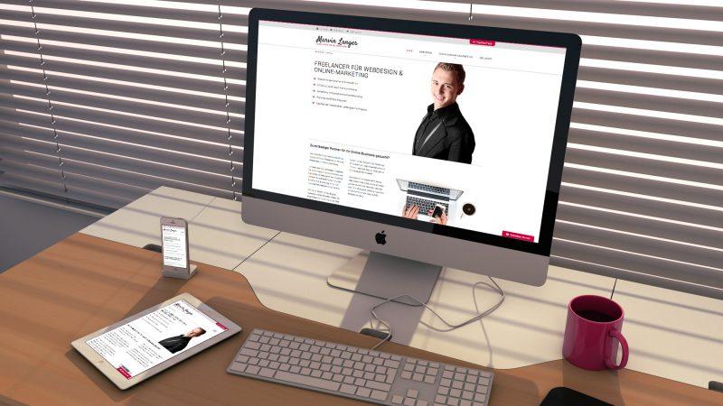 Marvin Langer Webseite