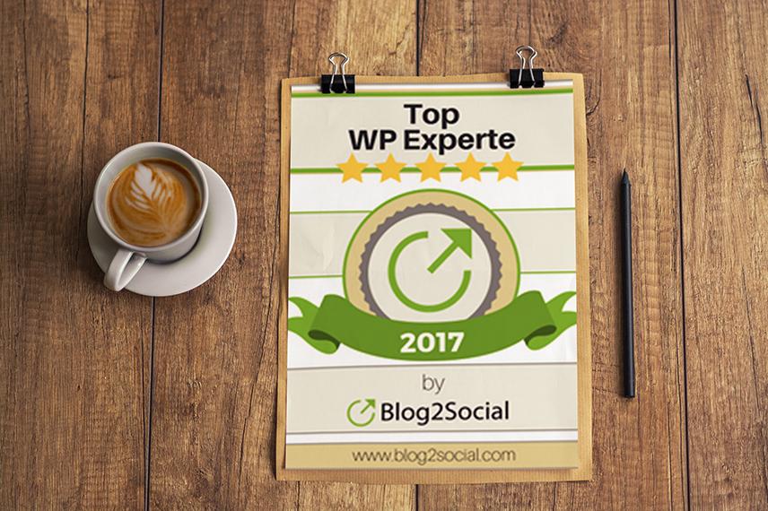 Top WordPress Experte 2017